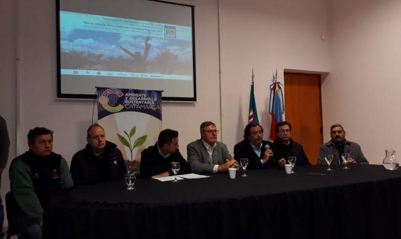 """""""Primer Seminario de Reflexión y Concientización de la Desertificación"""", EEA INTA Catamarca"""