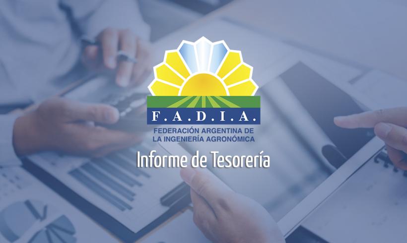 Informe Tesorería FADIA 2021